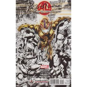 Age of Ultron signed cover